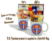 X Wing Fighter Mug with/without a intergalactic.. portion of 70's or 80's Sweets